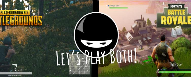 Fortnite and PUBG – Enjoying both is easy